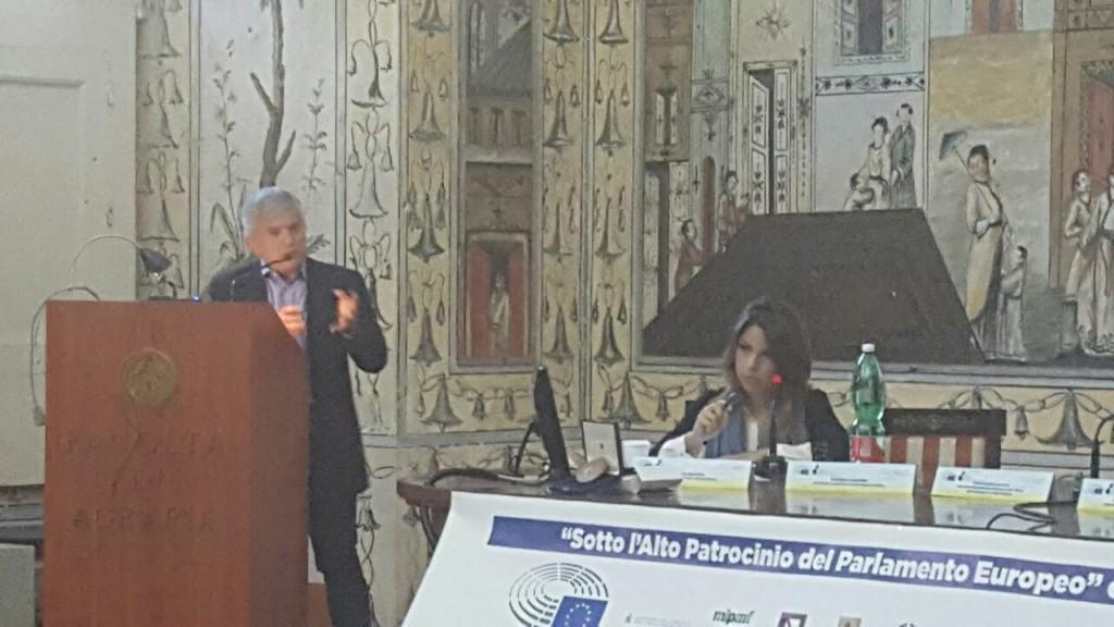 L'intervento di Raffaele Salerno, Direttore del Centro Epson Meteo e vicepresidente dell'AISAM