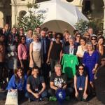 Meteorologi ed esperti provenienti da tutto il Mondo in visita al Villaggio del Clima