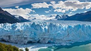 Panorama of Perito Moreno Glacier, Patagonia, Argentina