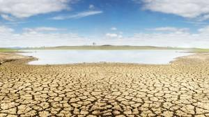 Dried Creekbed On Catalina Island, Severe California Drought