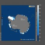 Antartide: concentrazione ed estensione del ghiaccio