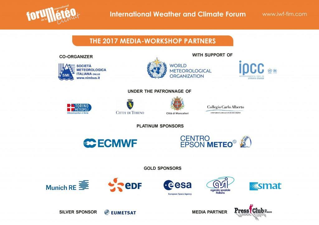 Partner del Media Workshop Forum Internazionale del Clima e della Meteorologia 2017