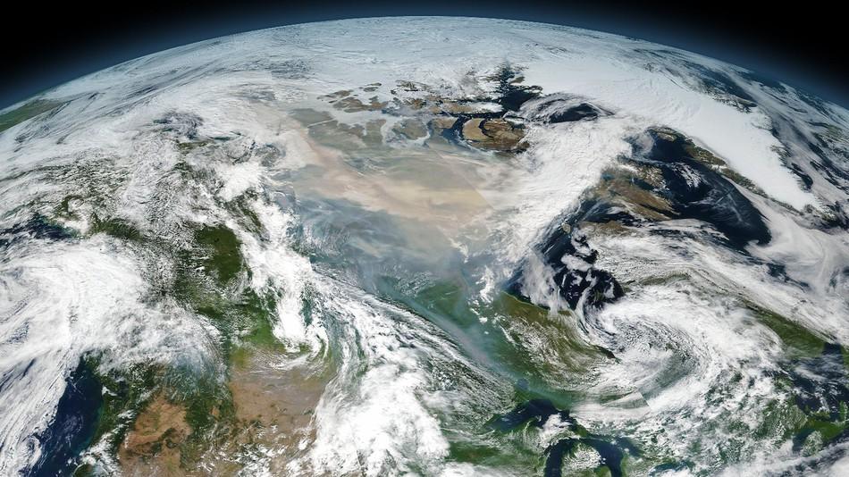 Incendi in Canada: coltre di fumo da record Fonte NASA