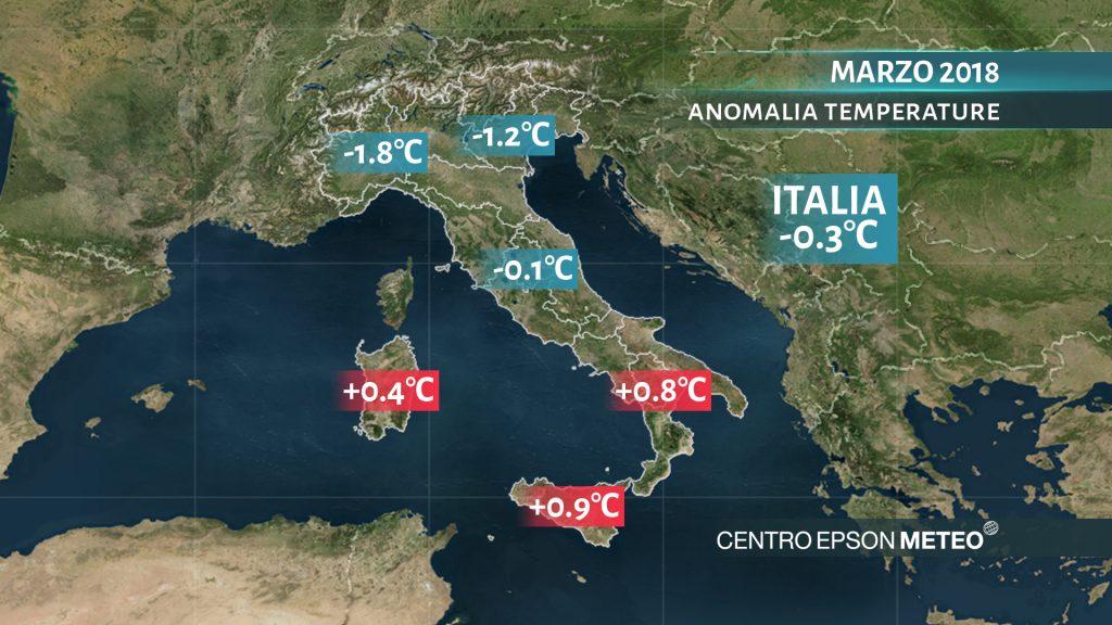 italia-anomalie-marz2018-temperature