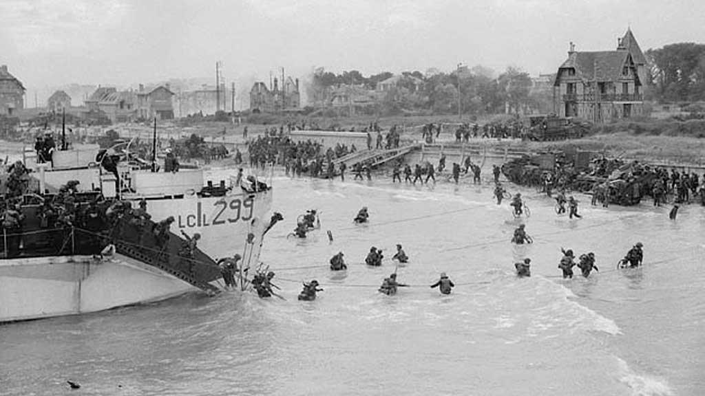 d-day: lo sbarco in Normandia, il 6 maggio 1994, riuscì anche grazie ai meteorologi