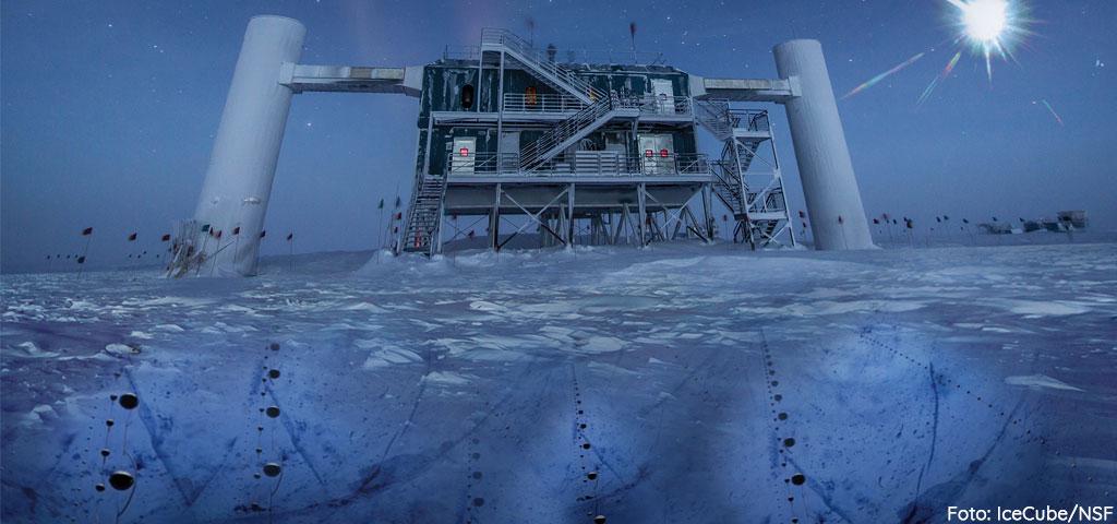 Scoperta una fonte di neutrini e raggi cosmici a 4 miliardi di anni luce da noi