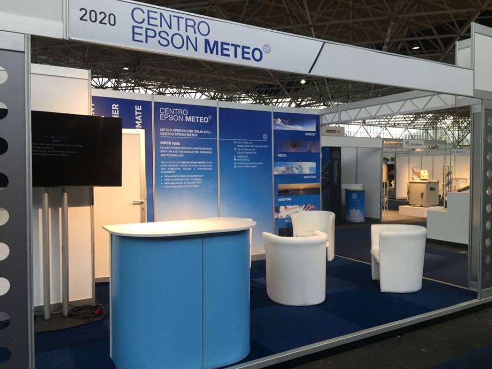 Amsterdam. Lo stand del Centro Epson Meteo nell'edizione 2017