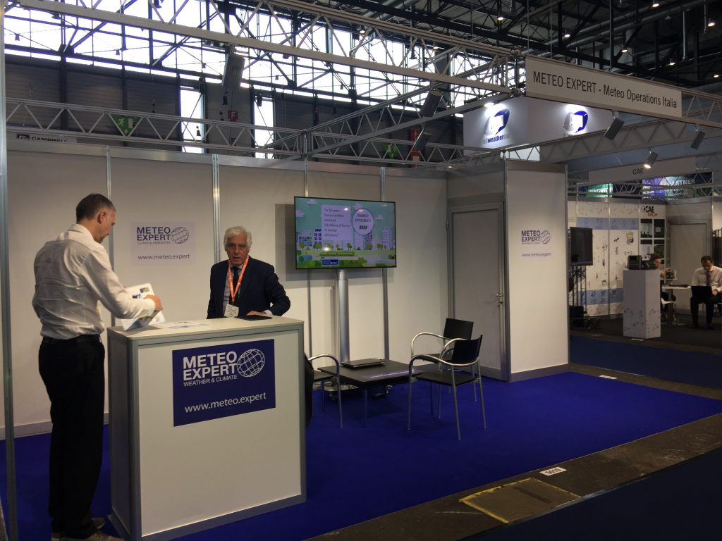 Stand al Meteorological Technology World Expo 2019