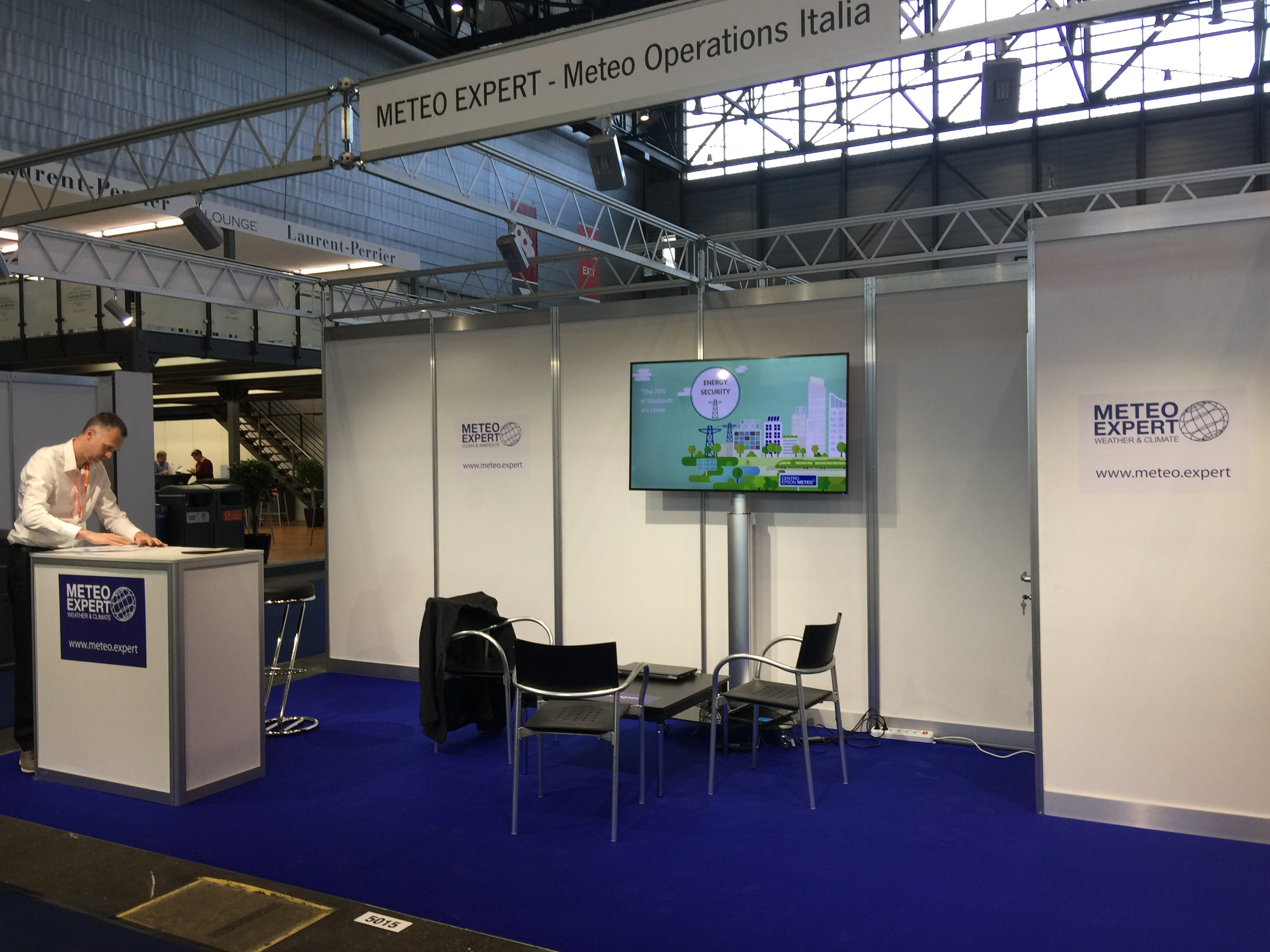 Stand Meteorological Technology World Expo 2019